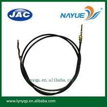 Chinese JAC truck HFC1068 parts hand brake cable 3508100E5QZ-YAS truck stop cable wire