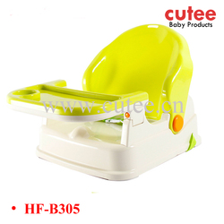 High Quality Eco-friendly PP Material Folding Plastic Baby/Infant Feeding Dinning Chair