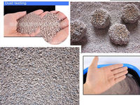 Pet cleaning grooming products of bentonite cat litter