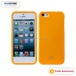 Waterproof Jelly case for iPhone 5 TPU cover soft case