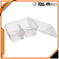 Plastic Food grade pp bpa free food small storage containers