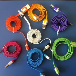 For Samsung/S3/S4ための高速カラフルなUSB充電器マイクロUSBケーブル