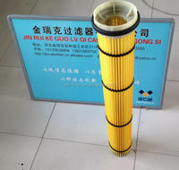 Customized Crazy Selling wet dust electrostatic filter cartridge