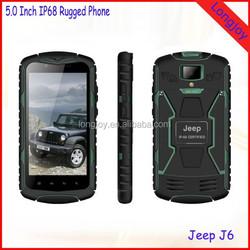 OEM Welcome 5.0 Inch 1280*720 HD Screen 1GB RAM 8GB ROM 3000mAh Battery Rugged Waterproof Android 4.4 Mobile Phone