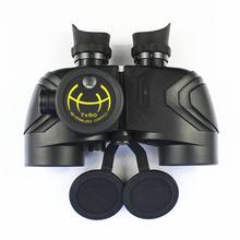 Recién llegado, binoculares de alta calidad del ejército ruso con brújula, binoculares de largo alcance a prueba de agua a la venta