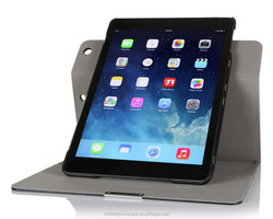 Folio detachable and rotating leather case for Ipad Air