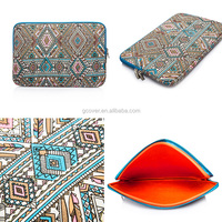 for ipad Pro bohemian style Canvas tablet laptop sleeve case