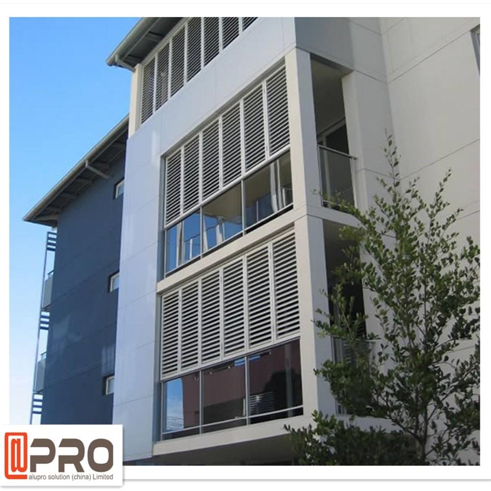 Exterior Aluminum Louvered Doors Aluminum Louver Casement Type