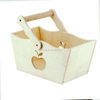 Decorative wood box fruit crate wooden vegetable crates, wooden packing boxes for fruits and vegetables