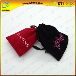 Custom drawstring jewelry velvet pouch,velvet pouch bag