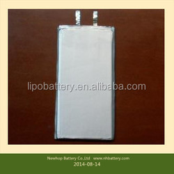 High capacity 3.7v 1500mah Mobile phone rechargeable lithium polymer battery making