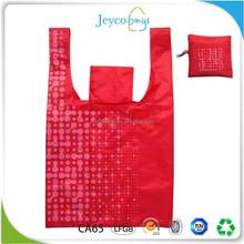 JEYCO BAGS AZO free eco printing nylon foldable shopping bag