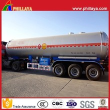 2015 Hot Sale Liquid Gas Tanker Semi Trailer Widely Used LPG Trucks With Volume&Axles Optional