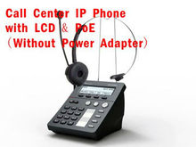 specialized call center IP phone with HD voice quality and LCD. VOIP SIP PHONE support SIP POE WAN/LAN:Router/Switch