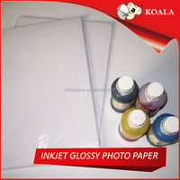190g glossy inkjet resin coated rc photo paper rolls factory supplier