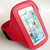 Colorful Gym Jogging mobile Phone Arm Band Case holder cover wallet bags For iphone 4 5 5C
