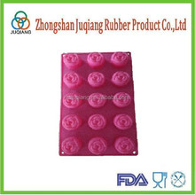 Druable and lovely silicone rose cake mold with high quality and reasonable price