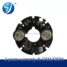 Higher cost-effective new technology 5050 model 20mil ir board for 60 size bullet or dome cctv camera