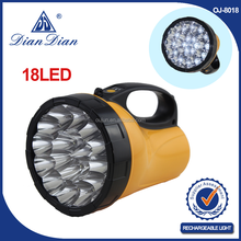 Top sales high power from China best quality led dynamo rechargeable flashlight