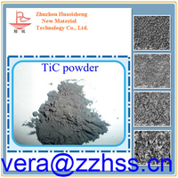 high purity titanium carbide powder TiC for thin film ultra-capacitors titanium carbide powder