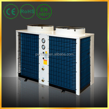CE, EN14511, IEC Commercial Air Conditioner Air Source Heat Pump Forced Air Water Heater Top Flow