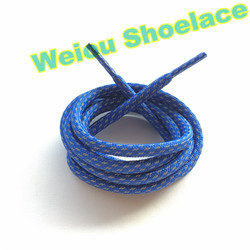 Weiou colored checkered glowing shoelaces for yeezy boost 350 750