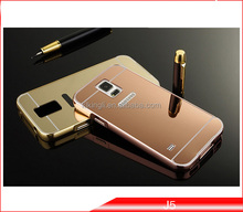 China supplier Transparent cell phone case Aluminum Bumper Metal Case for Samsung galaxy note 5