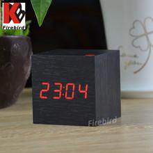 Promotional LED desk clock novelty gift abc gift for Mother's Day gift