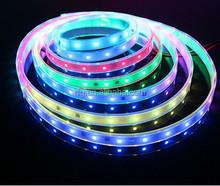 WS2812 LED dream color strip,WS2812B Addressable Color LED Light Strip 60 Pixel 5050 RGB SMD WS2811 IC