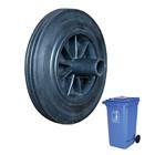 Trash roda de borracha sólida pneu