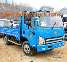 3-5 tons FAW 4x2 truck light truck