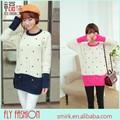 DC291# Loose cardigan warm Christmas sweater wholesale girls winter Knitwear sweater