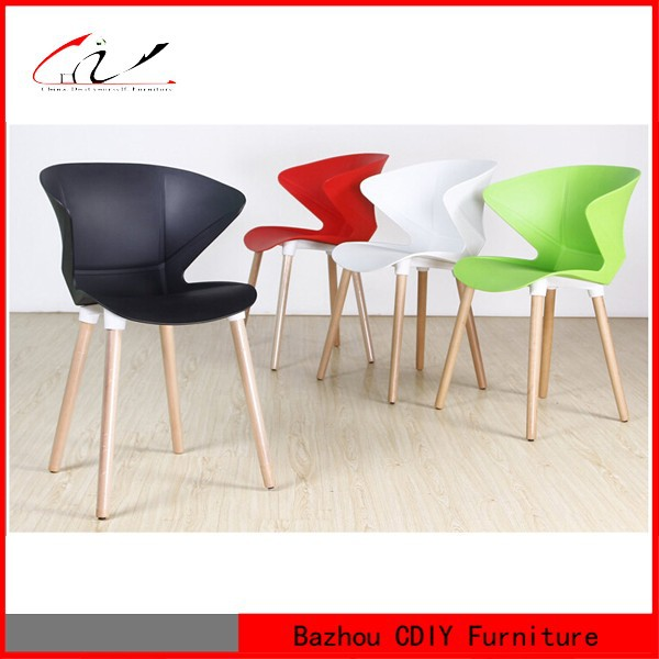 chair wooden legs chair buy wooden legs chair fashion plastic chair