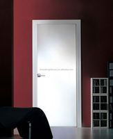 Hot Sale White Wooden Flush insulated interior doors