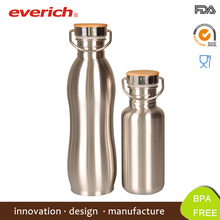 2015 Bicycle Single Wall Cheap Stainless Steel Outdoor Sport Water Bottle