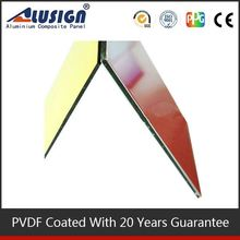 Alusign famous brand good quatity acm manufacturer aluminium mesh cladding