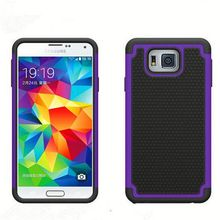 wholeslase phone cases ball textured hybrid combo case for samsung galaxy ace 3 s7272 s7275