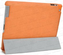 slim leather case for ipad 3/ for ipad3/new ipad case