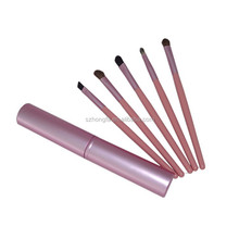 Hi-end pink gift makeup brush kit factory price brush makeup