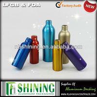 Aluminum fancy cheap custom body shape perfume bottle