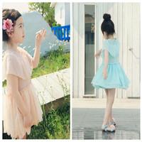 Infant Princess Cap Sleeve Stain Flower Girl Dress