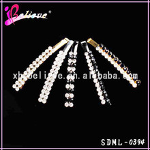 Low MOQ hair bobby pin wholesale hairpins for girls, crystal hair pin