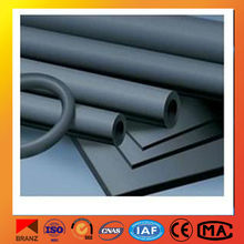 building material heat and cold insulation rubber foam pipe/tube