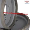 Contínuo em forma de taça rebolo com base de alumínio para máquina de afiação