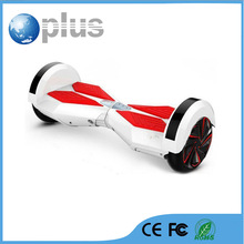 rubber wheel two wheel smart balance electric scooter