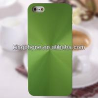 for iPhone5s Aluminum Skin Full CD Grain Style Cell Phone Case, PC Phone case for iphone5s. custom phone case for mobile phone