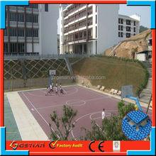 easy maintenance price court floor basket ball new arrival