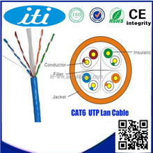 China supplier 24AWG 4pair Lan cable cat 6 utp cable