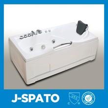 2015 adultos acrílico portátil antiguo tamaño personalizado bañera;resina acrílica bañera for JS-001
