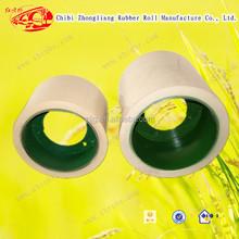 14 pulgadas de poliuretano Huller arroz rodillos de goma para molino de arroz máquina